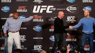 UFC 170: Patrick Cummins' Presser Experience