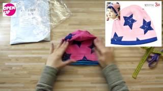 Распаковка и обзор детской шапочки с aliexpress  Unpacking and review of children's hats with aliexp