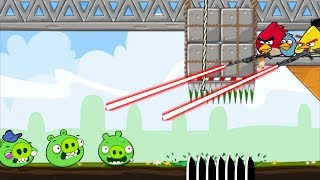 Crush Bad Piggies! - HUNTING AND DROPPING STONE TO ALL PIG THIEF!