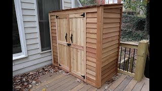 Outdoor Living Today - 6ft x 3ft Grand Garden Chalet Shed Build