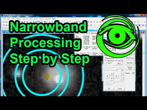 Narrowband Processing Step by Step NGC281