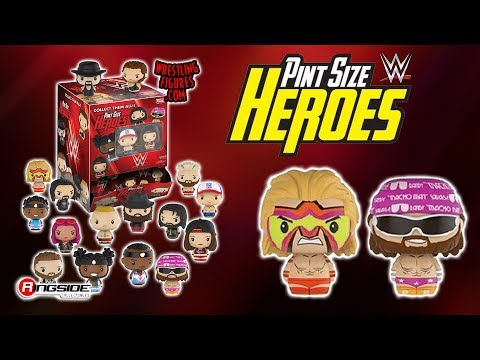 WWE FIGURE INSIDER: WWE Pint Size Heroes - Mystery Figures Toy Wrestling Action Figure