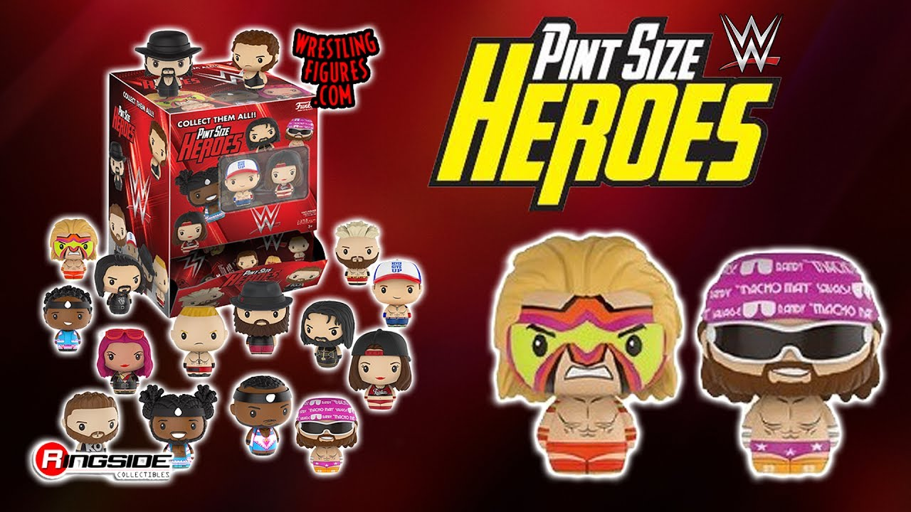 Pint Size Heroes Street Fighter Mystery full box 24 x Funko Mystery Minis