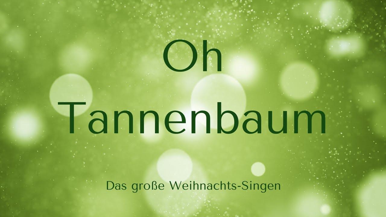 O Tannenbaum Karaoke.Oh Tannenbaum Karaoke