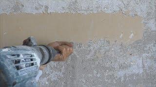 Как снять масляную краску со стен? Самый простой способ!