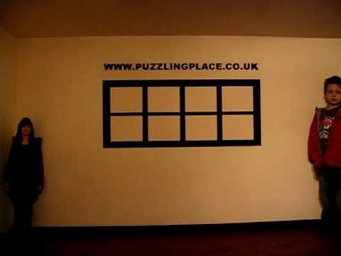 Optical Illusion Ames Room Puzzling Place Keswick Youtube
