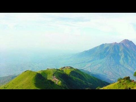 Mitos Pemandangan Gunung Merbabu Asli Bukan Youtube