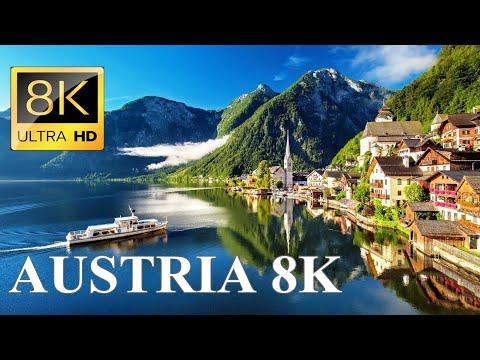 Austria 8K Ultra HD Drone Video