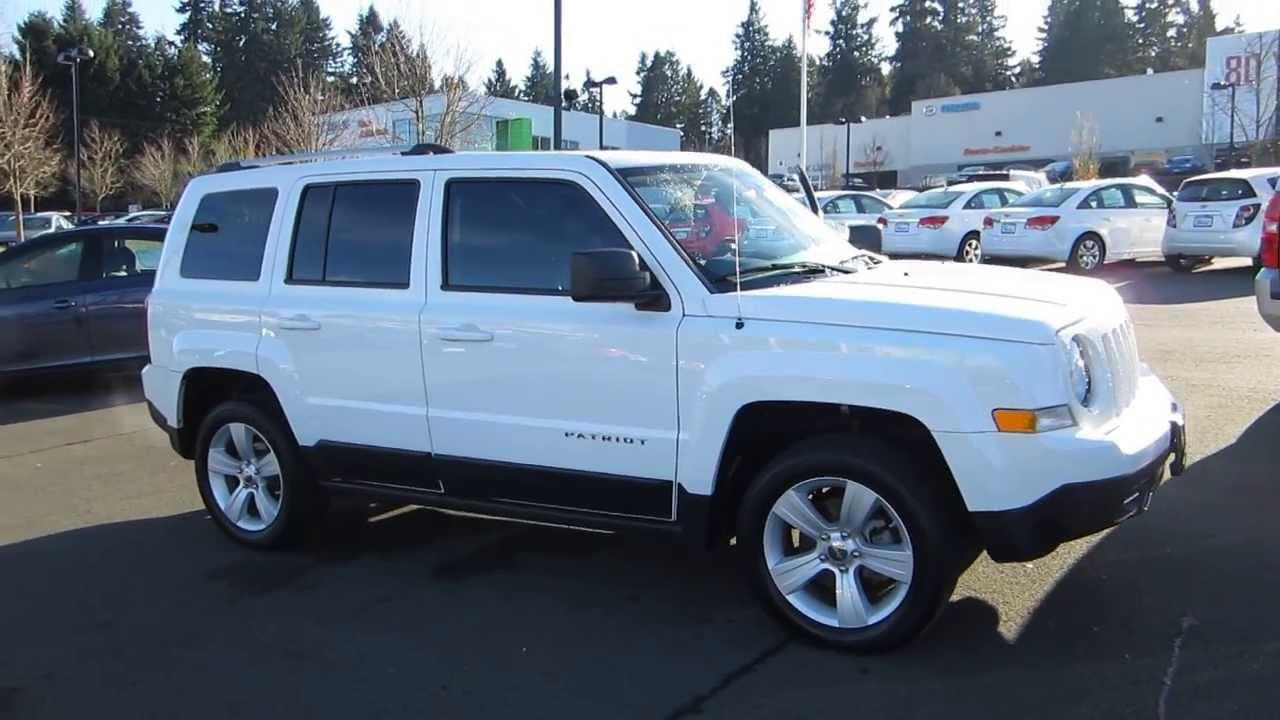 2011 jeep patriot, stone white - stock# m1407771 - walk around