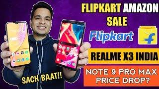 Flipkart Sale, Realme X3 India…