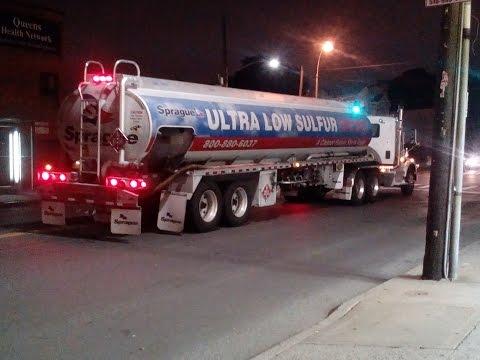 Ultra Low Sulfur Diesel (ULSD) Fuel Truck Departs Baisley Park Bus Depot
