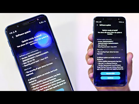 Samsung J6 Infinity July Update   Gaming Performance Improve   New Features
