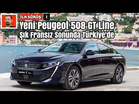 Yeni Peugeot 508 GT Line | Şık Fransız Sonunda Türkiye'de | İlk Sürüş