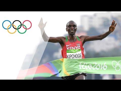Eliud Kipchoge wins Men's Marathon gold