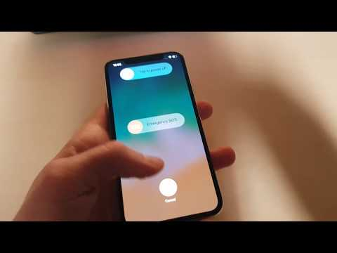 iPhone X - How to Shut Down (Turn OFF)?