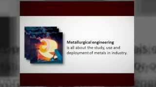 Metallurgical Engineering Degree Programs