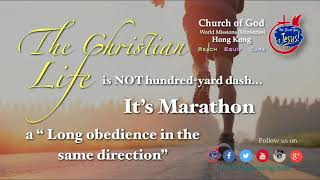 """ Going The  Distance"" 1 Tim Series 6:11-12"