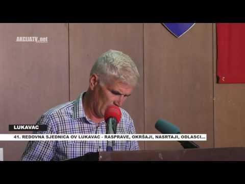 41 REDOVNA SJEDNICA OV LUKAVAC  AKCIJA TV