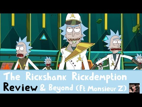 Rick & Morty S03E01 - 'The Rickshank Rickdemption' Review & The Future (with Monsieur Z!)