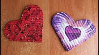 Необычный и Простой Способ Делать Магнит Сердце Своими Руками. Подарки не только на 14 февраля