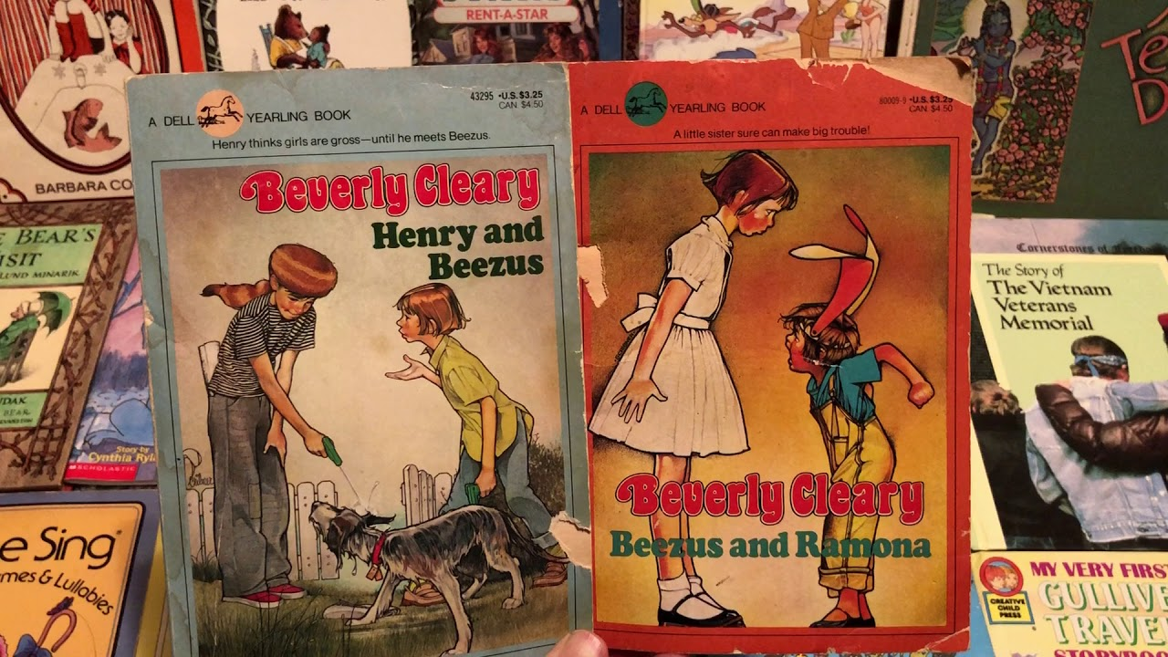 Beverly Cleary Children S Books 1980s 80s 80sthen80snow Youtube