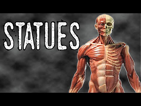 Statues - More Scary Mannequins Chase Me! Indie Horror Gameplay / Walkthrough