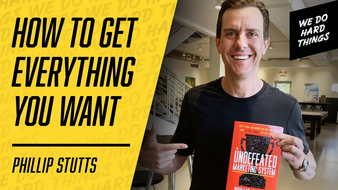 How To Make Real & Lasting Change In Your Life | Phillip Stutts on the We Do Hard Things Podcast