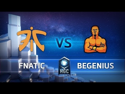 HGC EU - Phase 1 Part 2 - Game 2 - beGenius vs Fnatic