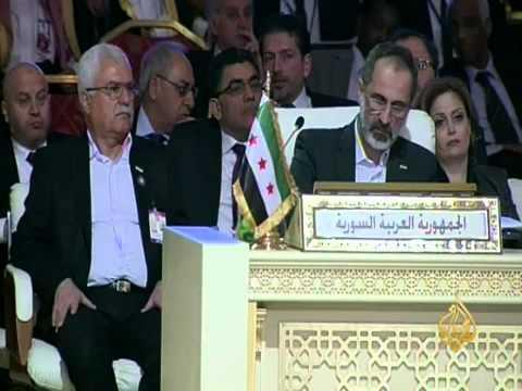 القمة العربية تناقش دعم صمود الشعب السوري