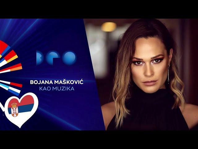 Bojana Mašković - Kao muzika / Beovizija 2020