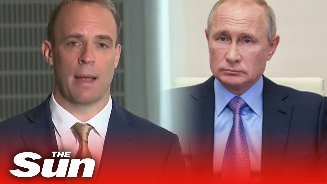 Dominic Raab blasts Russia for 'reprehensible' Covid-19 vaccine cyber hacks
