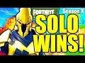 HOW TO WIN SOLO FORTNITE SEASON 10 TIPS! HOW TO GET BETTER AT FORTNITE SEASON X TIPS AND TRICKS!