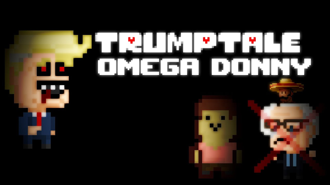 OMEGA DONNY INTRO (Donald Trump UnderTale CrossOver) - YouTube