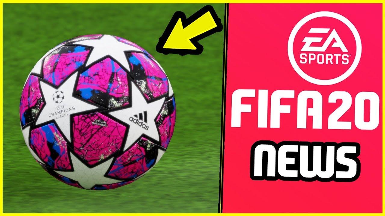 impresión falda formal  FIFA 20 - New Adidas Predator Boots and Champions League Ball Coming Soon?  - YouTube