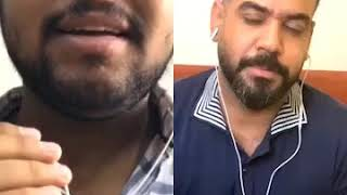 غني ديو اغنية اكتب رسالة مع النجم علي جاسم على تطبيق شدو
