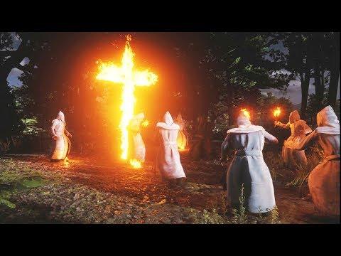 Red Dead Redemption 2 - KKK Scene