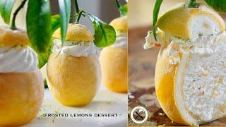Frosted Lemons Dessert 🍋 – Bruno Albouze – THE REAL DEAL