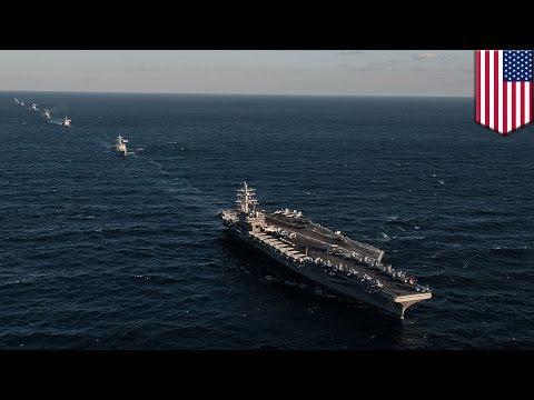 USS Ronald Reagan: U.S. fighter jets intercept Russian aircraft off Korean Peninsula - TomoNews