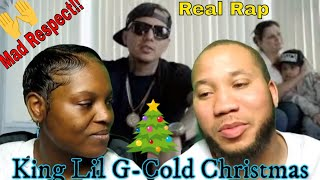 Bre & Ray Reacts To: King Lil G - Cold Christmas (Official Music Video) Mad Respect