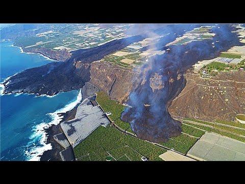 🚨 ÚLTIMA HORA: Aparece un nuevo Río de LAVA (Volcán de LA PALMA) Erupción Volcánica (Noticias 2021)