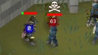 Runescape PVP WORLD PKING - Coworkers8 - Dharok's Painkiller