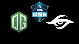 OG vs Secret ESL One Katowice 2019 Highlights Dota 2