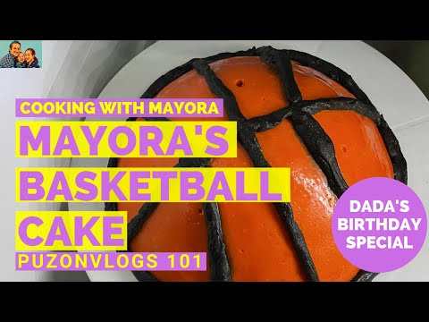 """PUZONVLOGS #101: HOMEMADE RED VELVET """"BASKETBALL"""" CAKE   #COOKINGWITHMAYORA from YouTube · Duration:  11 minutes 26 seconds"""