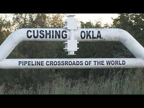 Cushing Oklahoma Pipeline and South Dakota protest:  I see the issue!