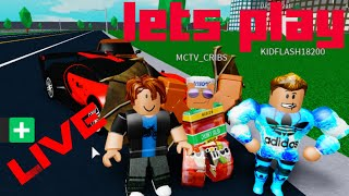 Lets PLAY ROBLOX Live Stream Playing w/Subs Channel Review#2nadad#Roblox#ChannelGrowth #notsub4sub