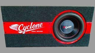 Красивый короб под Сабвуфер URAL Урал Cyclone 12 своими руками How to Make DIY Car Subwoofer Box