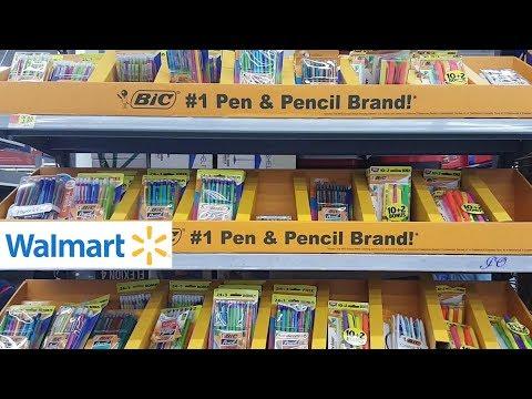WALMART BACK TO SCHOOL SUPPLIES SHOPPING 2019