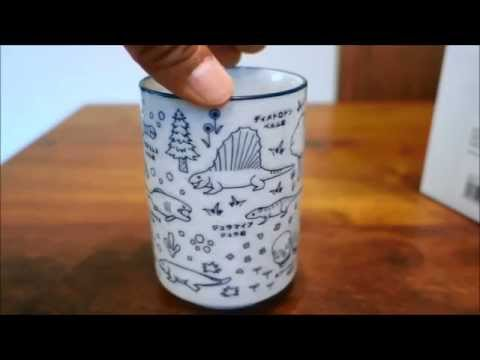NEUTRAL CORPORATION : Leaps in Evolution Japanese Tea Cup  SMDE1247