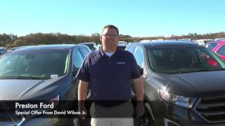 Special Offer From David Wilson Jr. During 2015 Top 100 Sales Drive