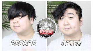 Video MEN'S MESSY HAIRSTYLE | EASY & EFFORTLESS | UPPERCUT DELUXE FEATHERWEIGHT WAX download MP3, 3GP, MP4, WEBM, AVI, FLV November 2017